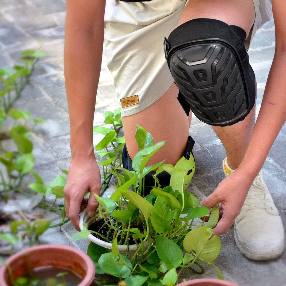 racksoy Ginocchiere Costruzione /pavimento Pulizia e giardino lavoro protezione per il ginocchio protezione per il ginocchio di alta qualit/à per lavoro/