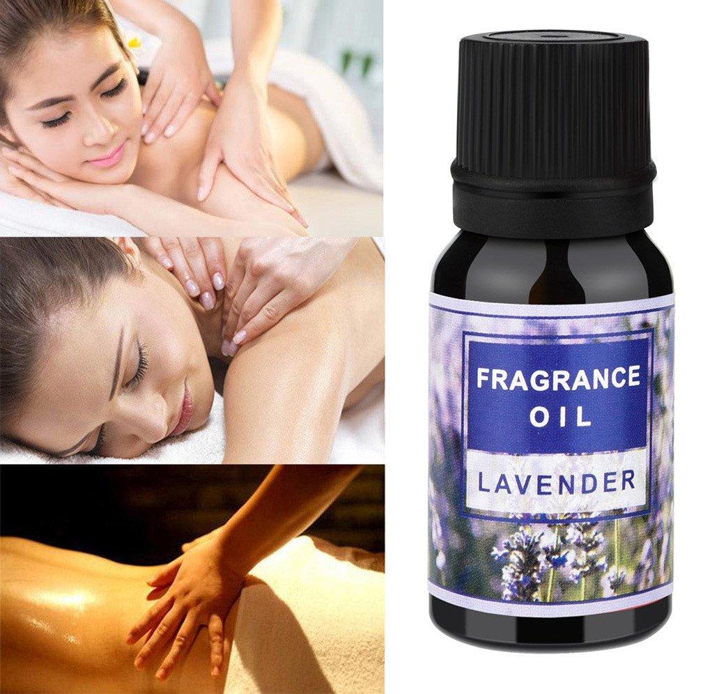 Jinjin Aromatherapy Essential Oils Gift,6 Bottles/ 10ml Each, ( Rosemary, bergamot, lemon, mint, lavender, jasmine) (B)