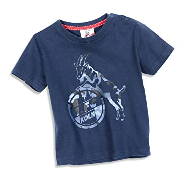 1 Fc Köln Kinder Kids T Shirt Camberger Str Gr 50 164 Amazonde