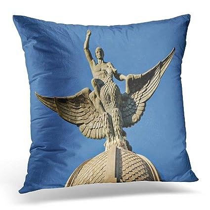 Amazon.com: Emvency Throw Pillow Cover Huelva Spain Circa ...