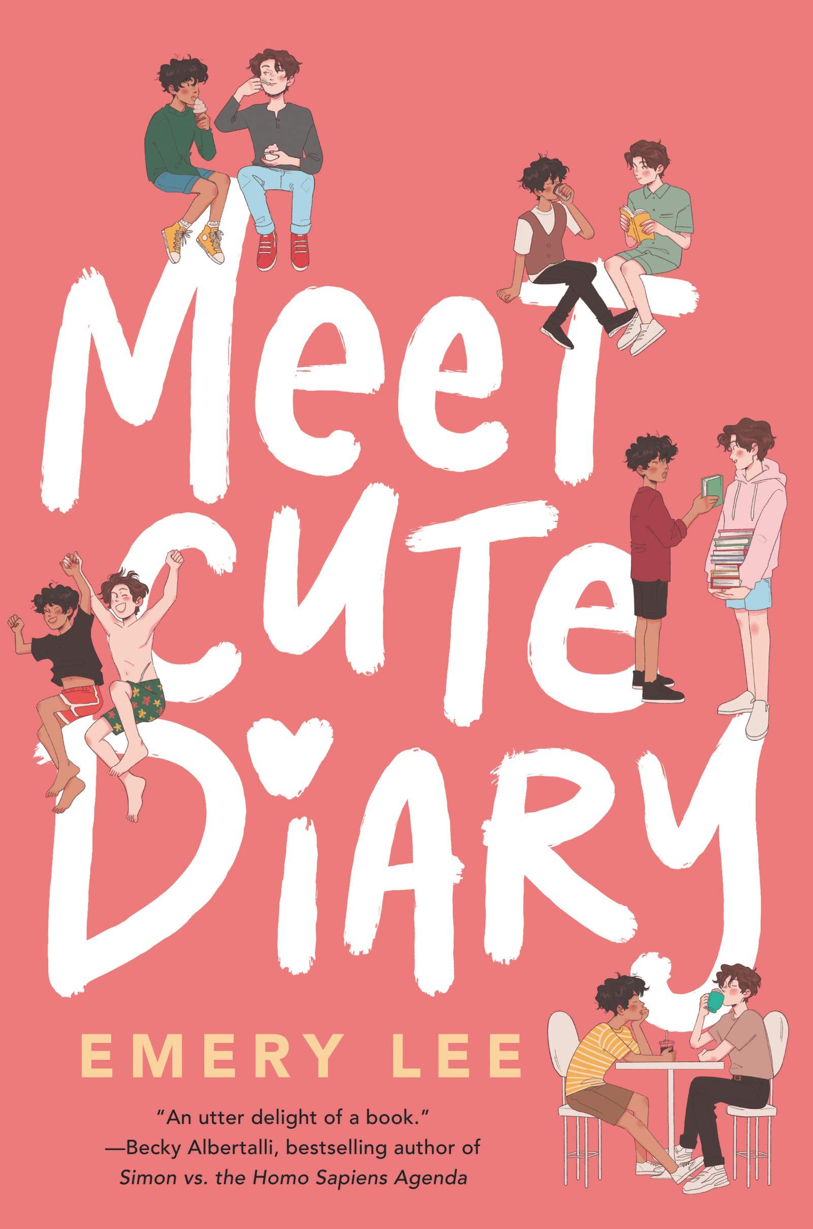 Meet Cute Diary : Lee, Emery: Amazon.co.uk: Books