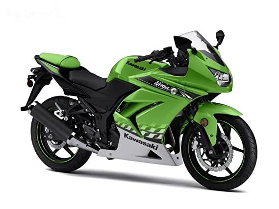 08 - 11 Kawasaki Ninja guardabarros frontal L. Verde 35004 ...
