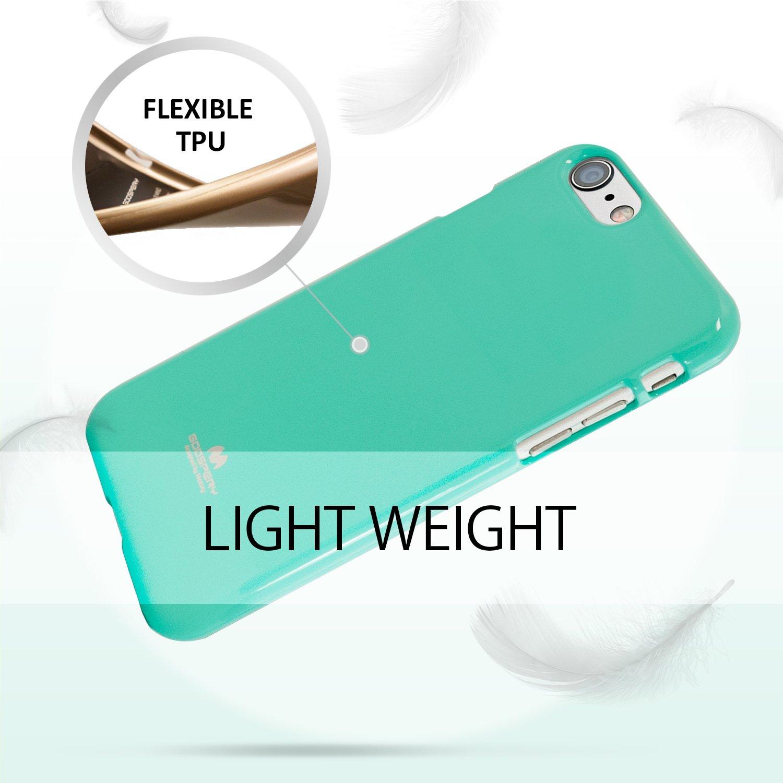 Promo Goospery Iphone 8 Pearl Jelly Case With Hole Clear Terbaru The Little Things She Needs Reca Blue Sepatu Flat Tsn0001142c0032 Biru 40 7 Slim Fit Flexible Tpu Lightweight Bumper