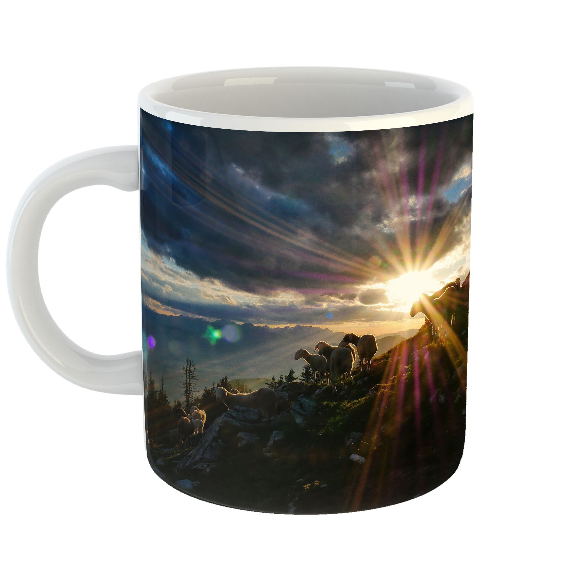 Westlake Art - Flare Solar - 11oz Coffee Cup Mug - Modern Picture Photography Artwork Home Office Birthday Gift - 11 Ounce (0D26-D5865)