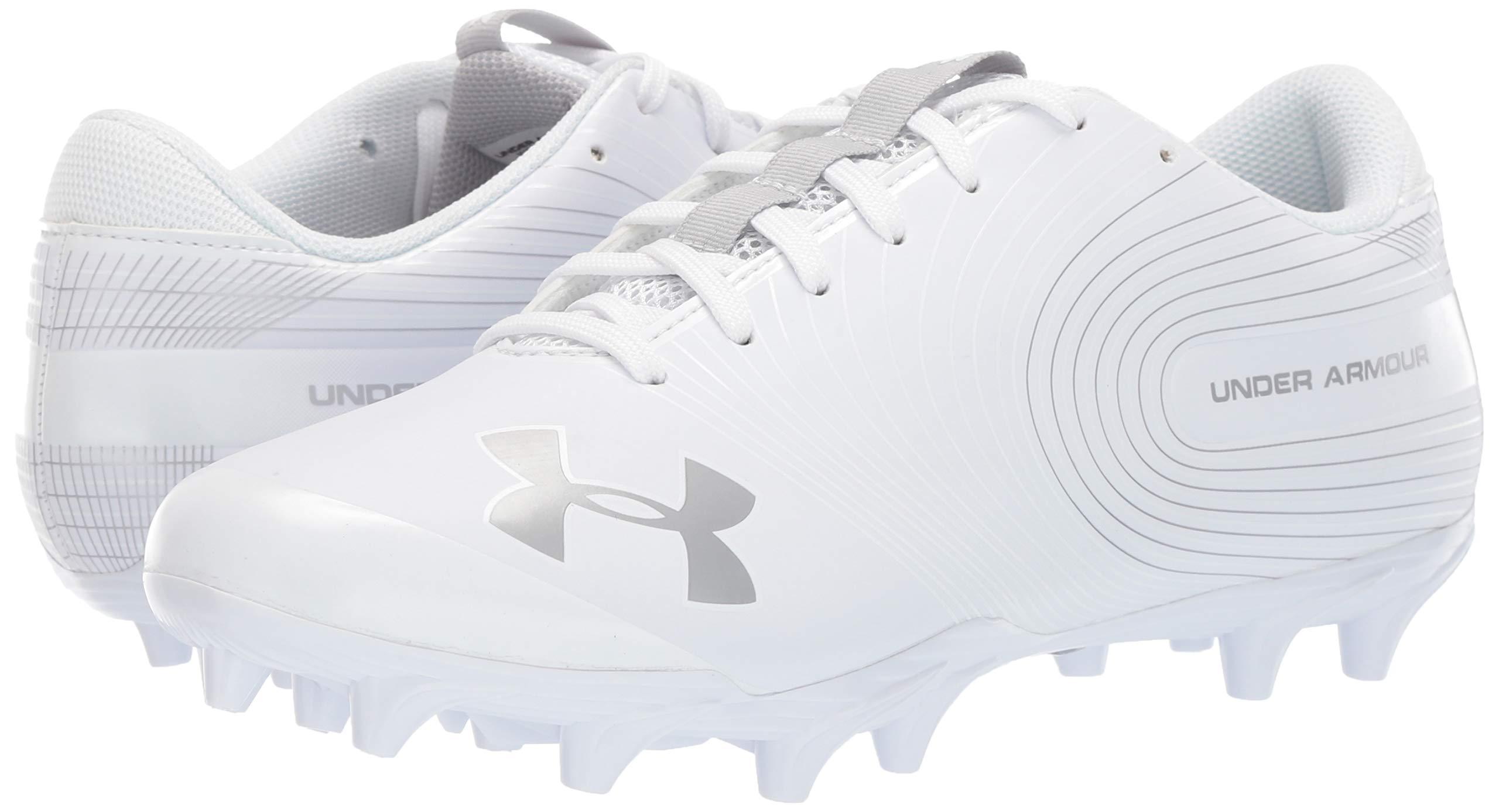 Under Armour Men's Speed Phantom MC Football Shoe, White/White, 7.5 M US by Under Armour (Image #5)