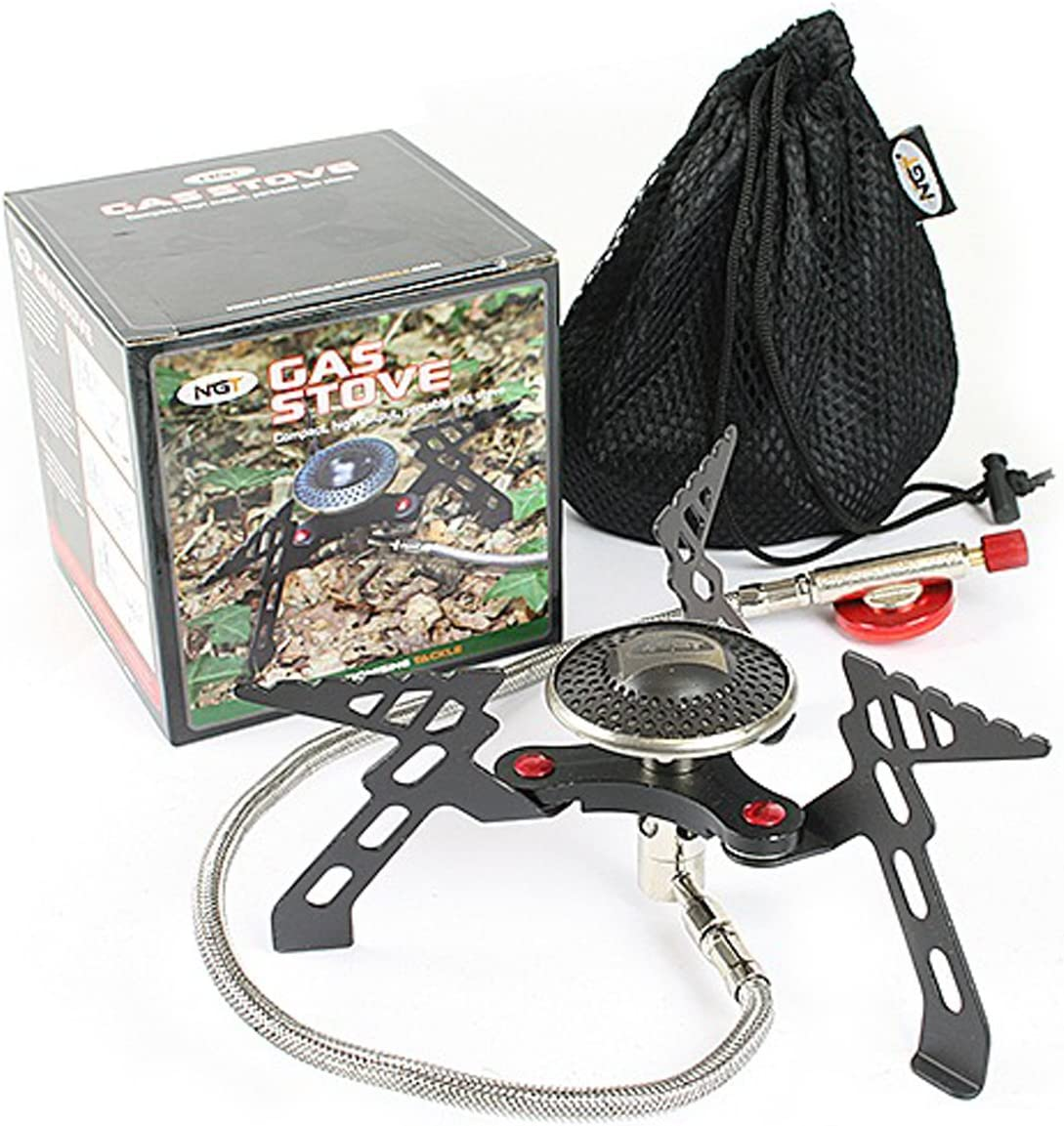 NGT Portable Foldable Camping Gas Stove Outdoor Cooking Hiking Boat Picnic 3000W by NGT