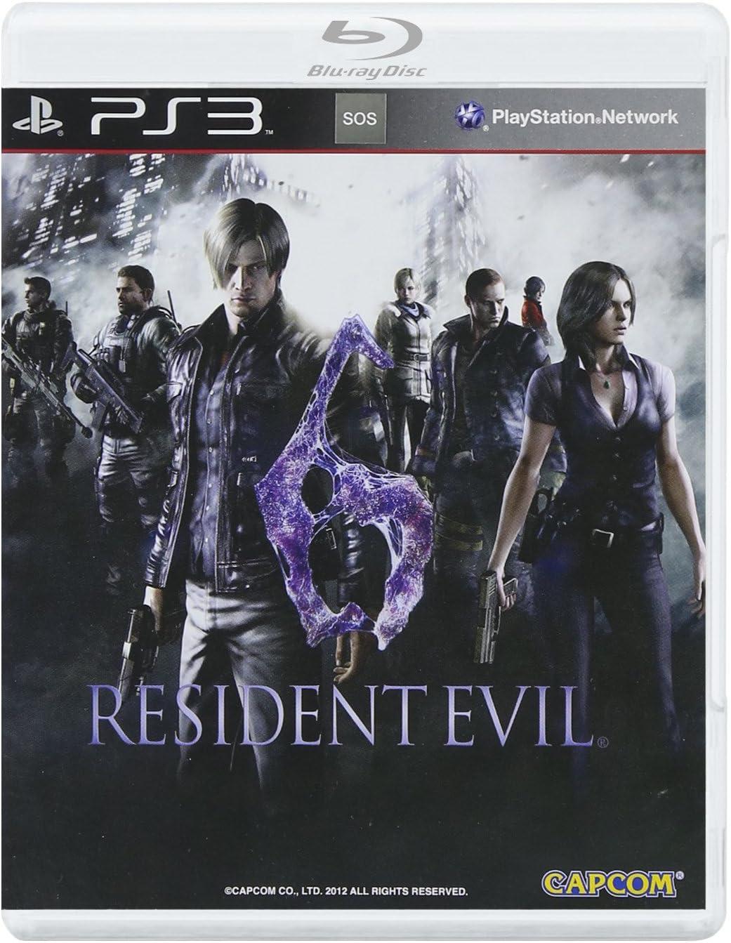 Resident Evil 6 (輸入版:アジア): Amazon.es: Videojuegos