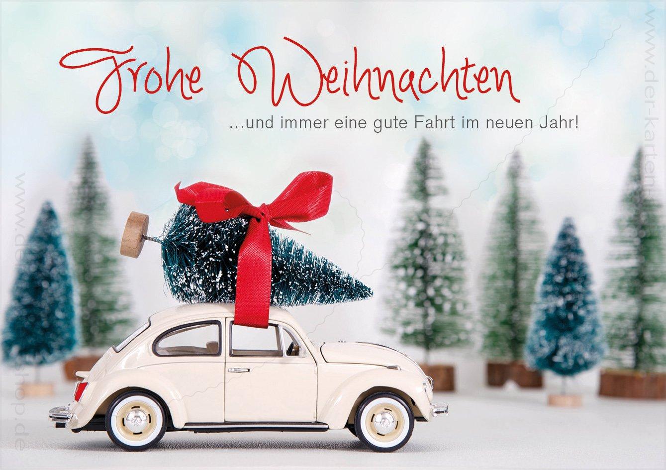 3 Stück Weihnachtskarten Doppelkarte mit Kuvert Karte ...