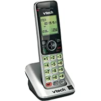 VTech CS6609 Accessory Handset for VTech CS6619, CS6629, CS6648 or CS6649, Silver/Black