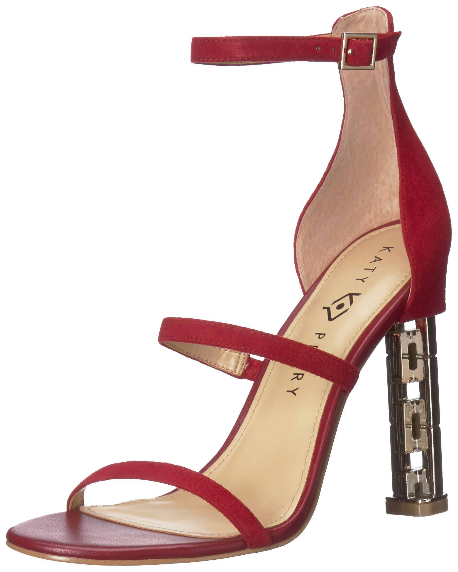 Katy Perry Women's The Vilan Heeled Sandal, Mulberry, 10 Medium US by Katy Perry (Image #1)