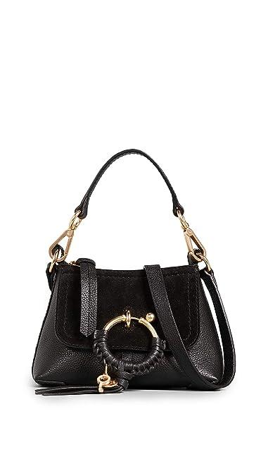 df7572782ac Amazon.com: See by Chloe Women's Joan Mini Shoulder Bag, Black, One ...