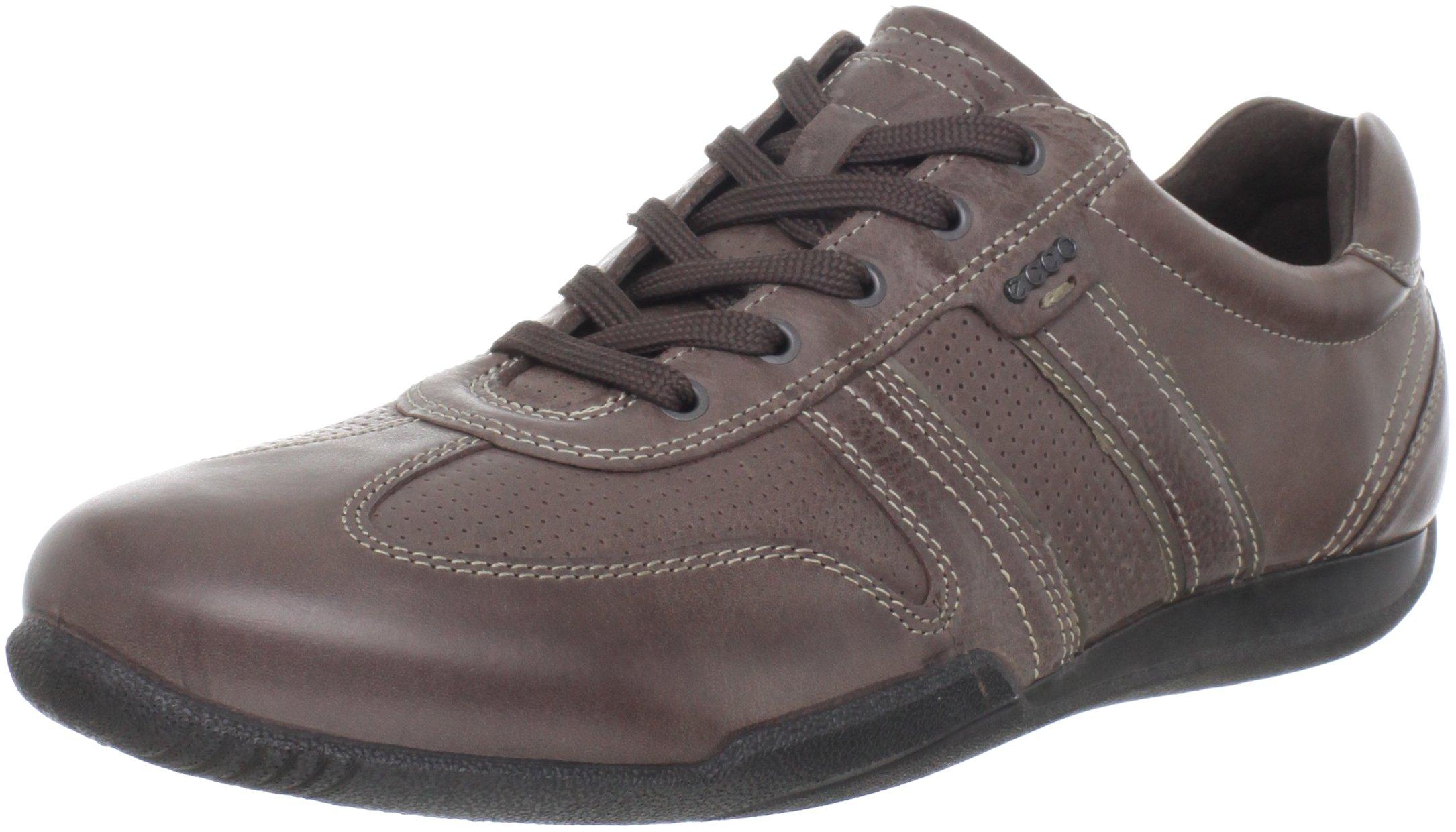 ECCO Men's Summer Sneaker,Coffee/Dark Clay,43 EU/9-9.5 M US