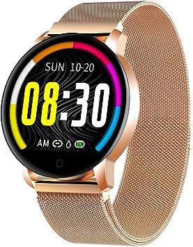 GOKOO Smartwatch Impermeable Reloj Inteligente Mujer Hombre ...