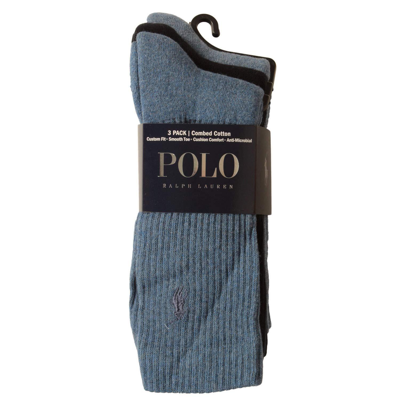 Ralph Lauren Paquete de 3 calcetines de algodón combinados hombre ...