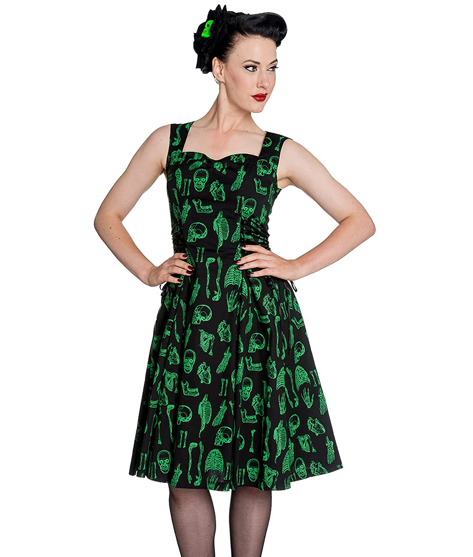 Black Green Dresses