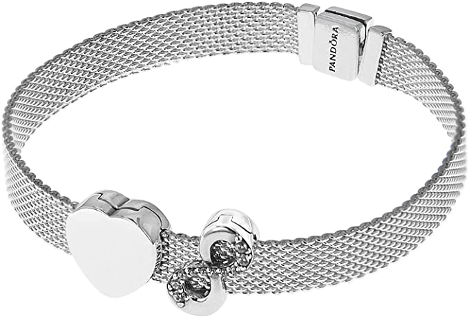 Pandora Reflexions 75336 Women's Bracelet with 2 Clip Charms ...