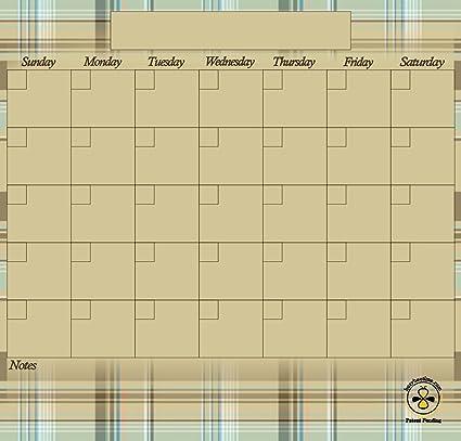 Borrado en seco magnético Frigorífico oficina dormitorio mensual calendario chocochip busybeetime con grandes cajas de día