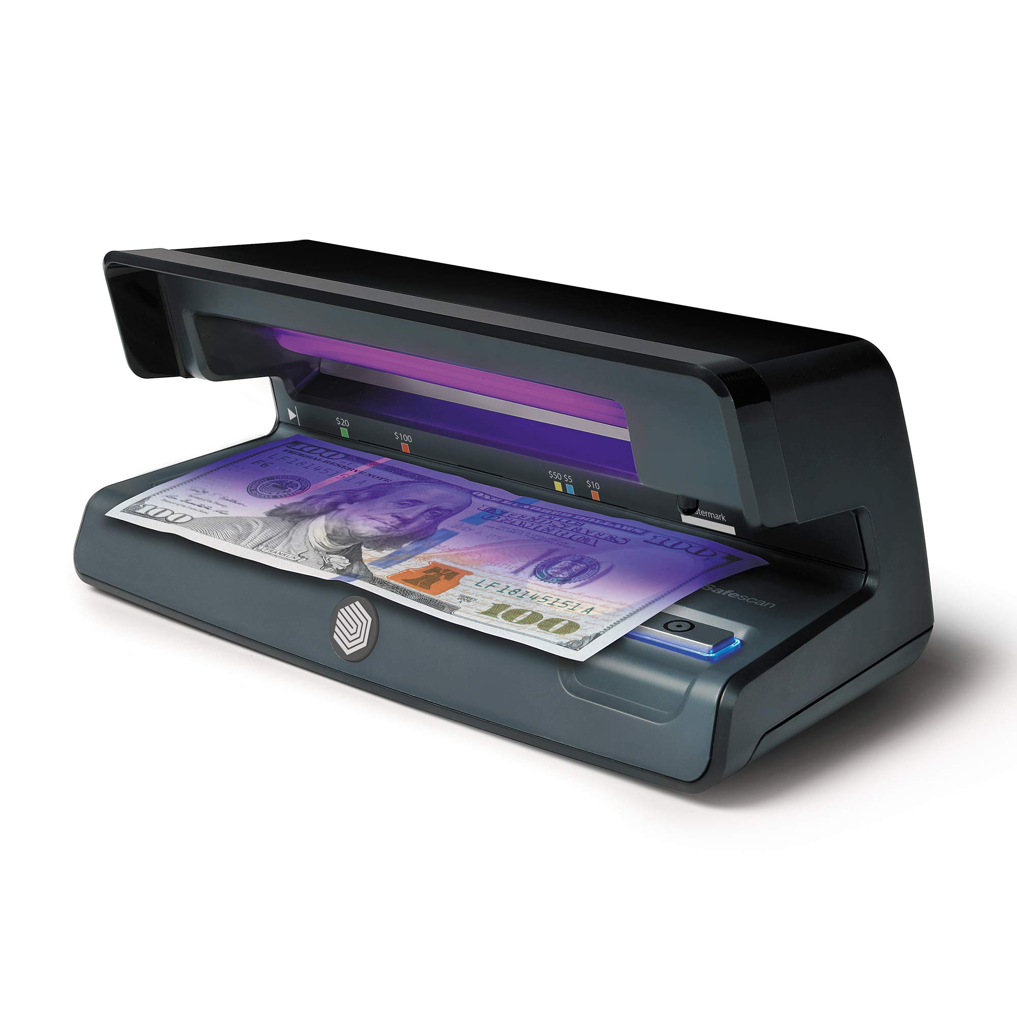 Safescan 70 - UV Counterfeit Bill Detector with Watermark and microprint Detection for Bills, Credit Cards and ID's by Safescan