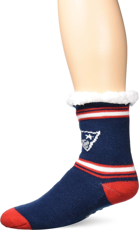 FOCO NFL STRIPE LOGO TALL FOOTY SLIPPER