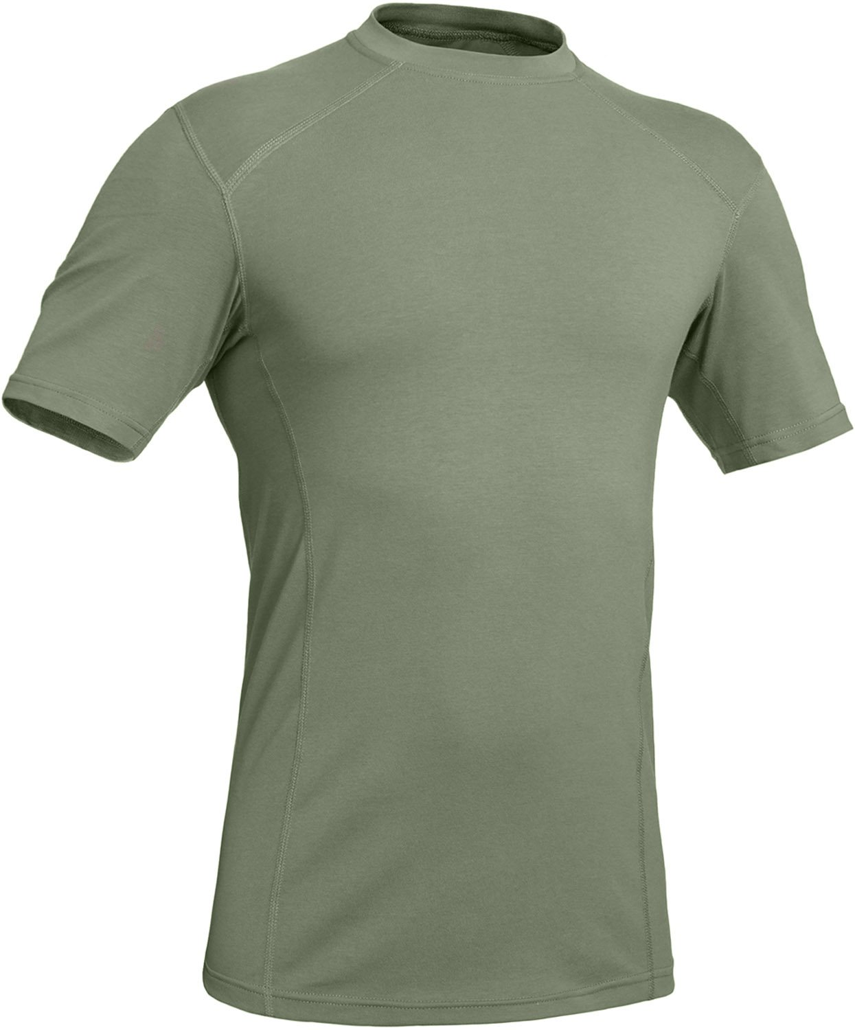 281Z Military Stretch Cotton Underwear T-Shirt - Tactical Hiking Outdoor - Punisher Combat Line (Olive Drab, Medium)