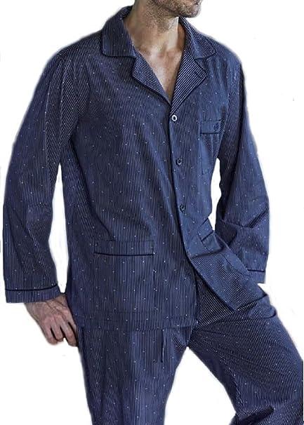 Pijama Hombre Guasch Clásico Abotonado de Tela (100% algodón) pc161d.665 (