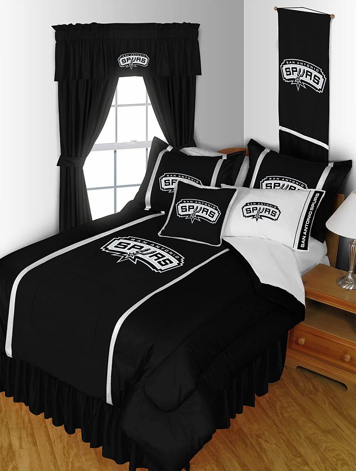 100 sports bedding set twin fashion design blue green footb