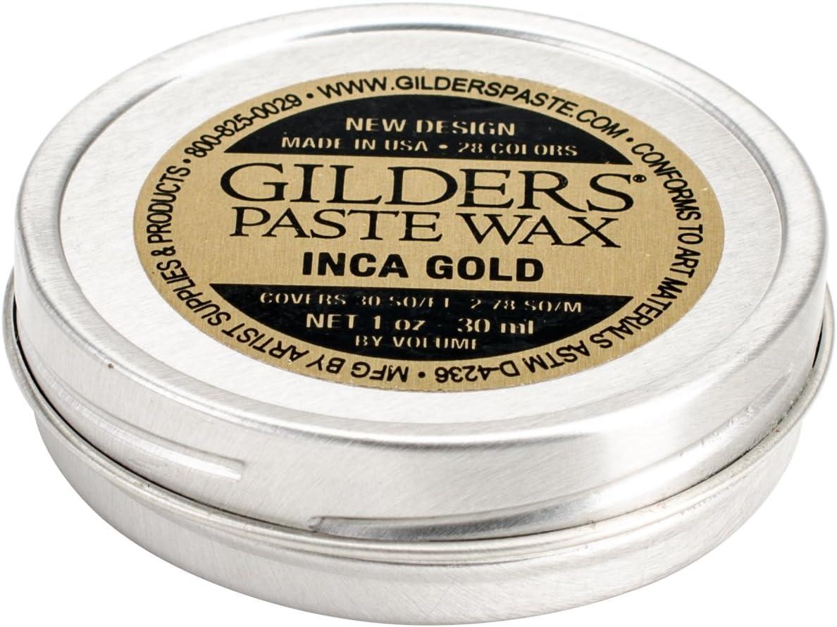 Baroque Art Gilders Paste 1 Ounces-Inca Gold