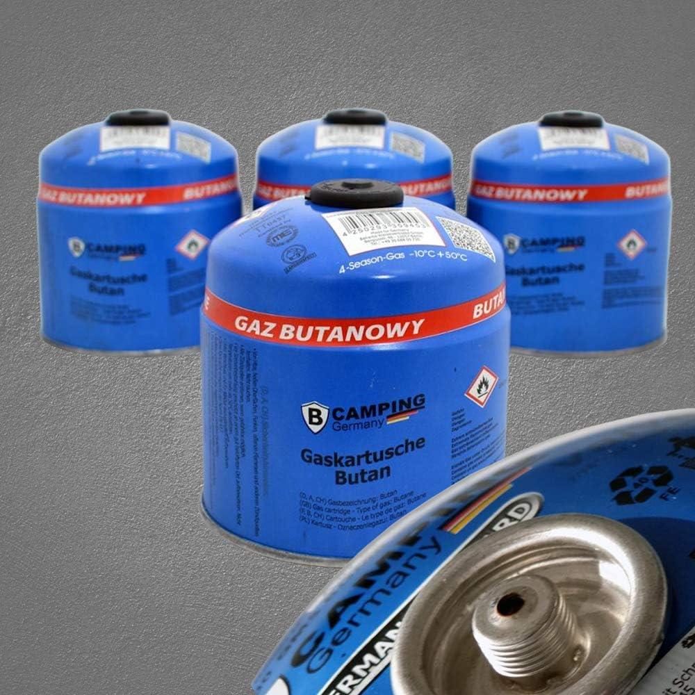 2,19 EUR//100 g 500 g Gaskartusche Butan Schraubkartusche Camping Grillen Gas