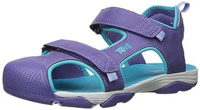 1d36d9d6f Teva Boys  Toachi 4 Sandal Purple Scuba Blue 6 M US Big Kid