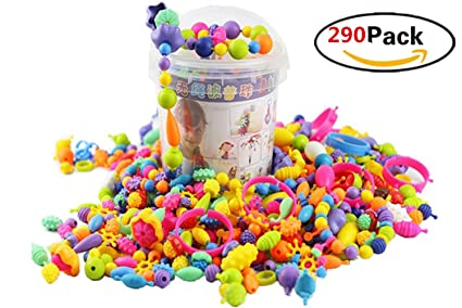 Buy Youning Pop Beads Set Diy Jewelry Kit Snap Beads Set Diy
