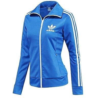 a few days away united kingdom half off adidas Damen Trainingsjacke Blau Blau 40: Amazon.de: Bekleidung