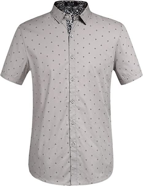 Oxford Herrenhemd Kurzarm Button-Down-Kragen Büro Business 5 Farben Gr.S-3XL