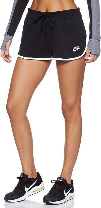 precio inmejorable muy elogiado nuevo estilo de vida NIKE W NSW Hrtg Short FLC - Pantalones Cortos de Deporte Mujer: Amazon.es:  Ropa y accesorios