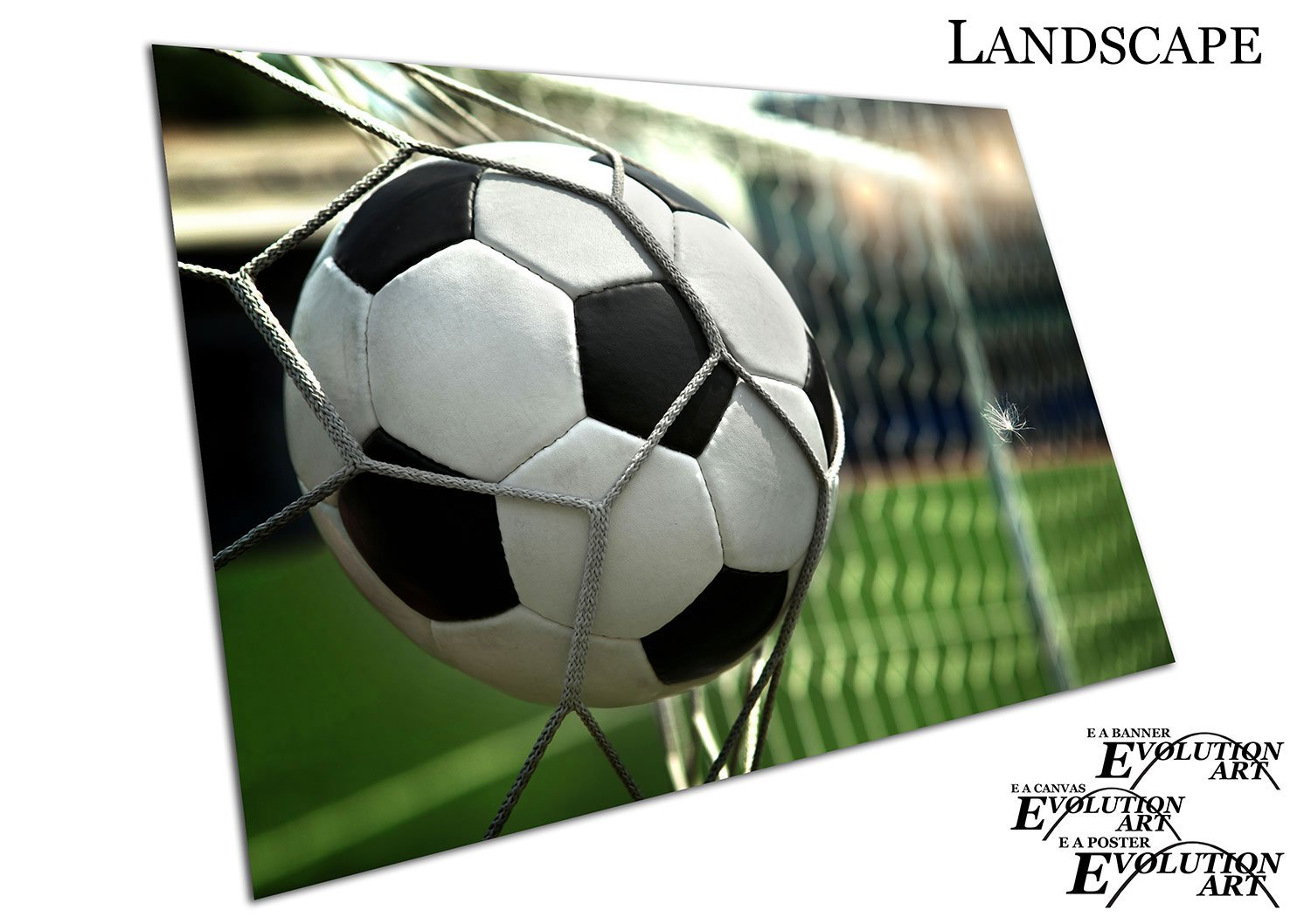 GOAL FOOTBALL WALL ART LARGE A1 POSTER 33 X 23 INCH
