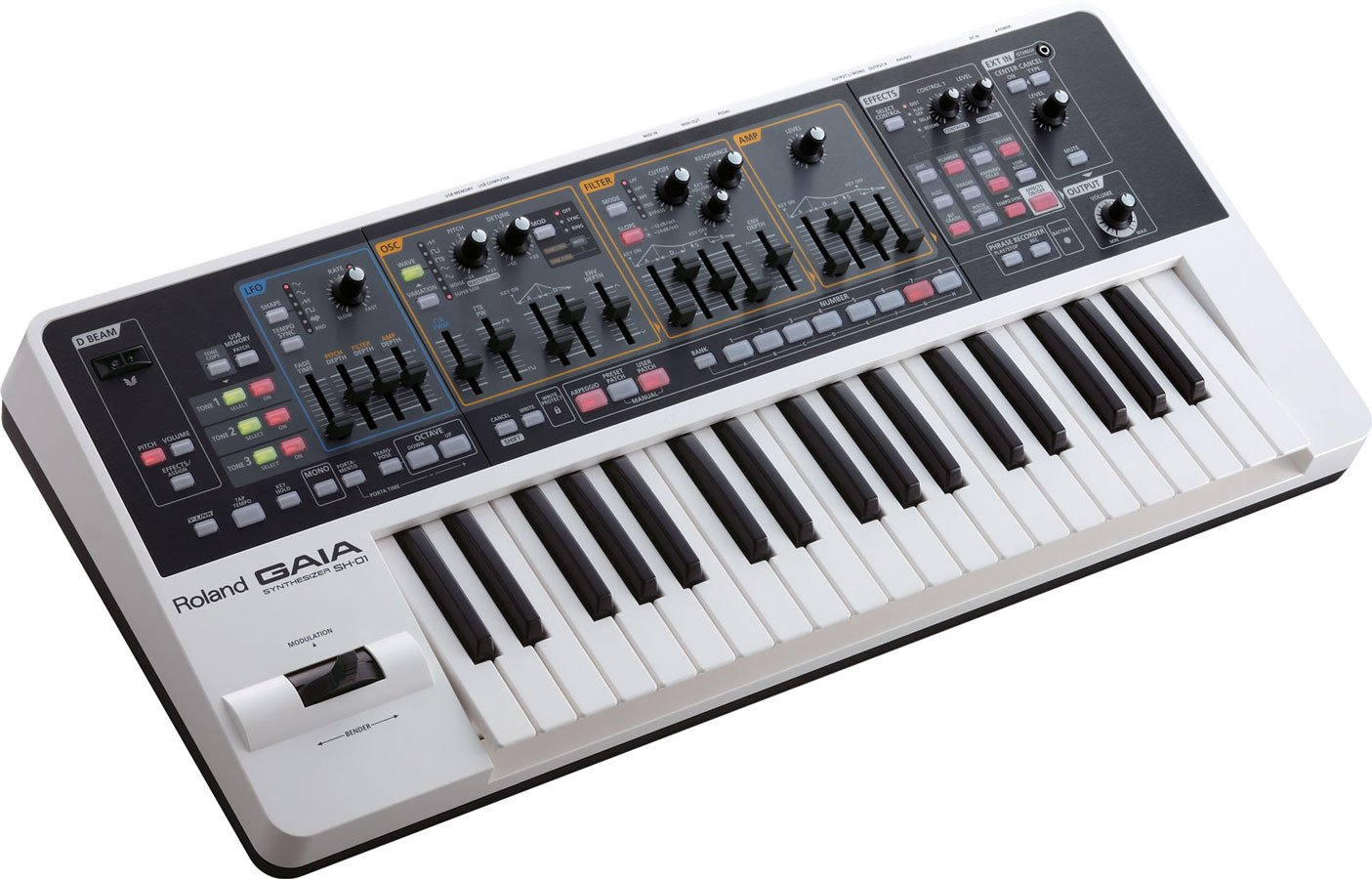 Roland GAIA SH-01 37-key Virtual Analog Synthesizer with 1 Year Free Extended Warranty by Roland (Image #2)