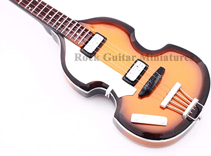 RGM07 Paul McCartney - Beatles - guitarra en miniatura: Amazon.es ...