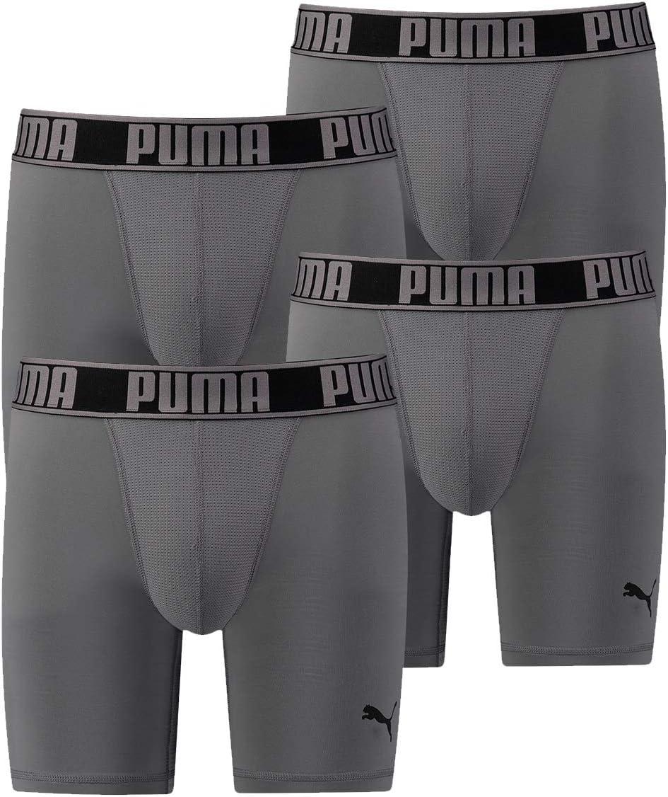 PUMA Active Long - Calzoncillos Tipo Boxer para Hombre: Amazon.es: Deportes y aire libre