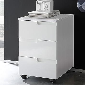 Büro Küche Günstig | Lifestyle4living Rollcontainer Rollschrank Rollwagen Buroschrank