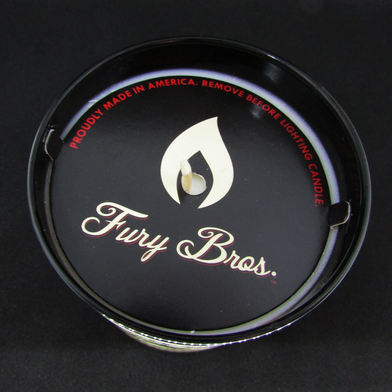 Fury Bros. Luxury Black Series Candles for Men | Made in the USA with High Grade 100 percent Soy Wax for a Long, Smooth Burn | All Natural, Vegan| Black Tea - Dutch East India Company Cargo, 9 ounce by Fury Bros. (Image #3)