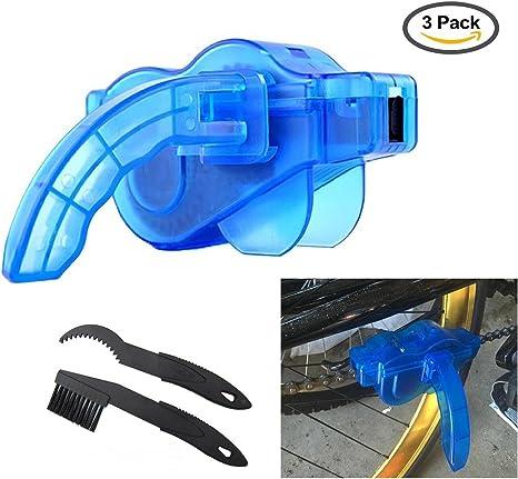 YOSPOSS - Juego de herramientas para limpiar cadenas de bicicletas ...
