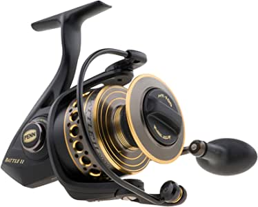 Penn Battle II & III Spinning Fishing Reel (All Models & Sizes)