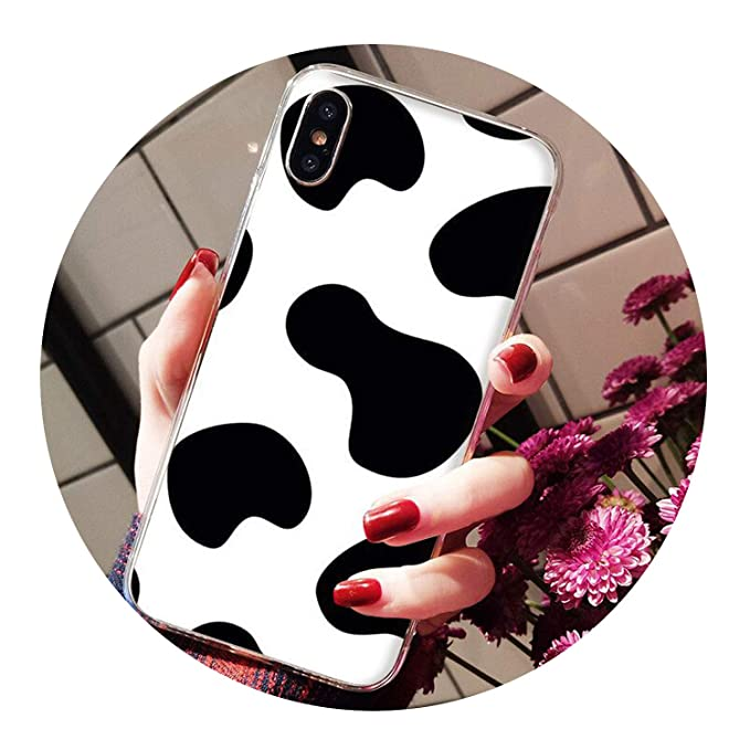 Amazon.com: double-june Summer Cute Milk Painted Phone ...