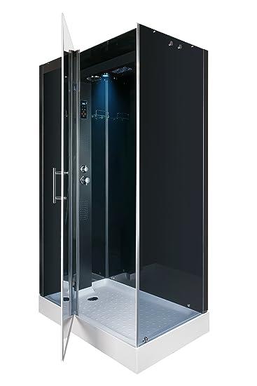 dusche komplett aus glas moderne duschkabinen realisieren. Black Bedroom Furniture Sets. Home Design Ideas