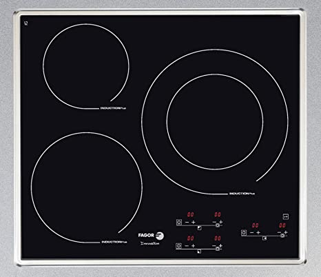 Fagor IF-3BX hobs - Placa (Incorporado, indución eléctrica, 2200W ...