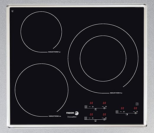 Fagor IF-3BX hobs - Placa (Incorporado, indución eléctrica, 2200W, Electrónico, Botones, 220-240V)
