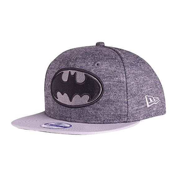 a8dbfa79dbf New Era Batman Youth 9FIFTY Snapback Grey  Amazon.co.uk  Clothing