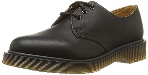 1461 Dr Talla Para Negro 37 Hombre Martens Cordones Con Zapatos a56Zwq