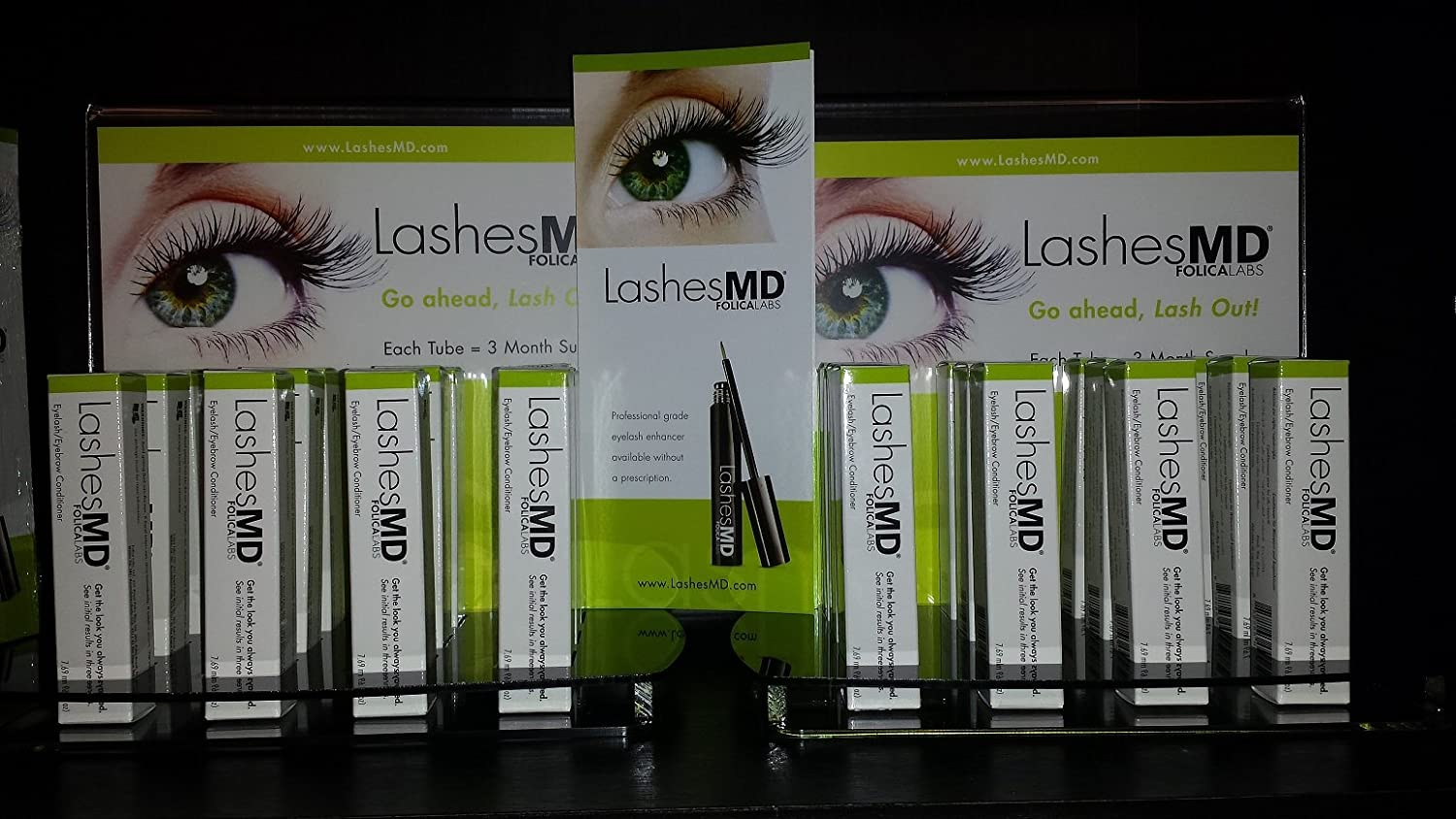 Amazon Lashes Md Eyelash And Brows Growth Serum And Enhancer