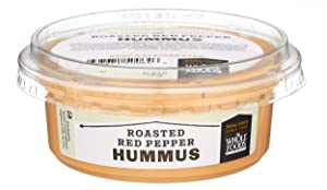 Hummus, Roasted Red Pepper Is