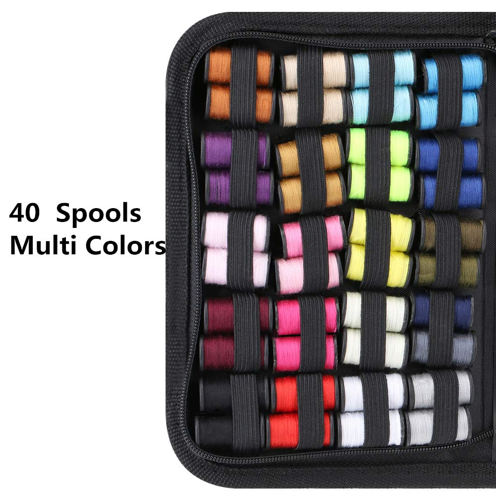 Coquimbo Kit de Costura, Portátil kit costura para hogar de viaje accesorios de costura con funda de transporte para Uso Adultos Niños: Amazon.es: Bricolaje ...